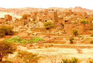 ghost village hijaz mountains saudi arabia