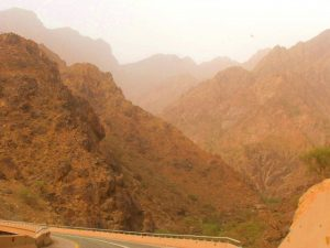 mountains dhi dhee ayn baha saudi arabia