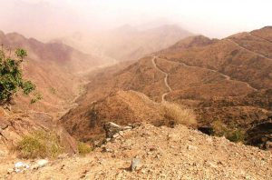 switchback road al namas saudi arabia