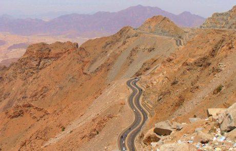 taif highway saudi arabia