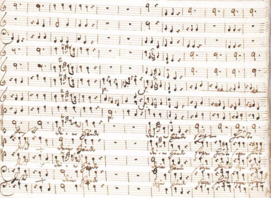 graupner cantatas manuscript