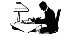 writer clip art image