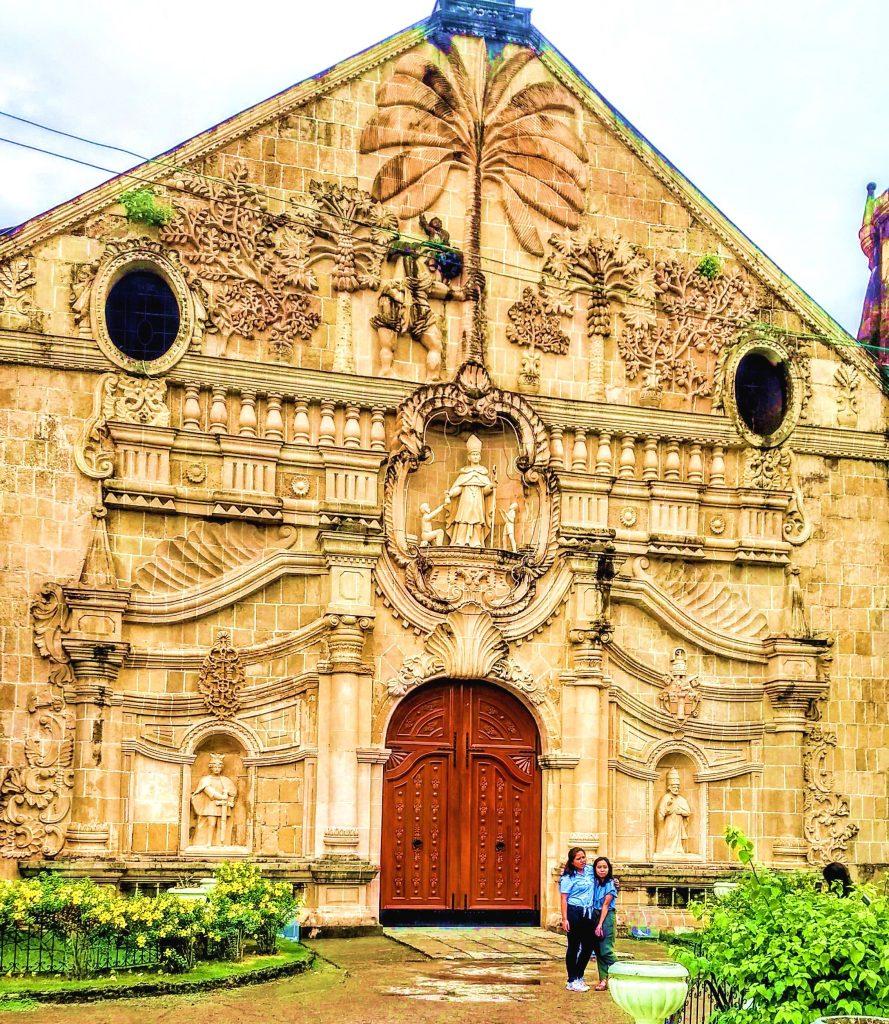 miagao iloilo UNESCO church Panay Philippines
