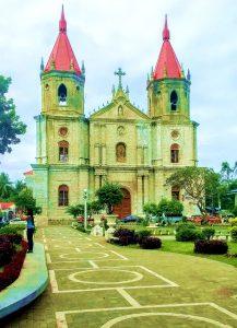 Molo church Iloilo Panay Philippines