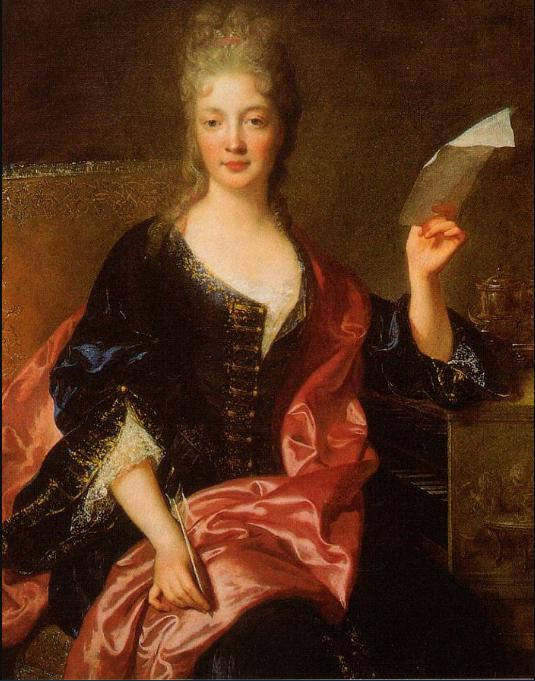 Elizabeth Jacquet de la Guerre portrait