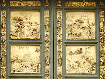 Florence Baptristry Doors - Ghiberti