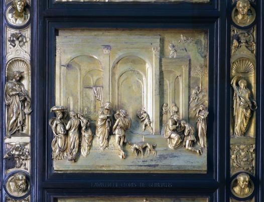 Ghiberti -- Baptistry panel
