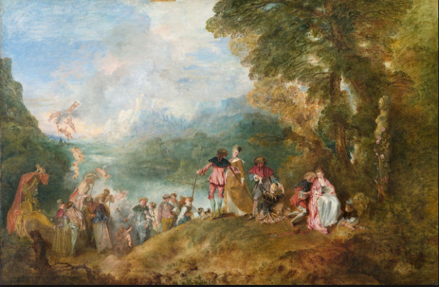 Watteau Embarcation for Cythera