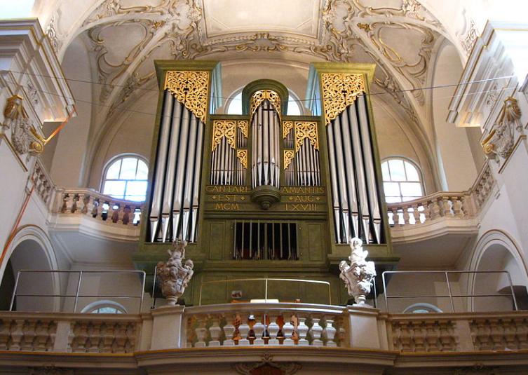 St. Ursula Vienna organ