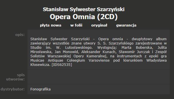 szarzynski tracklist