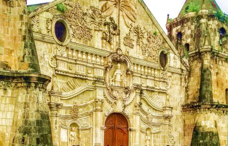 Miagao church facade