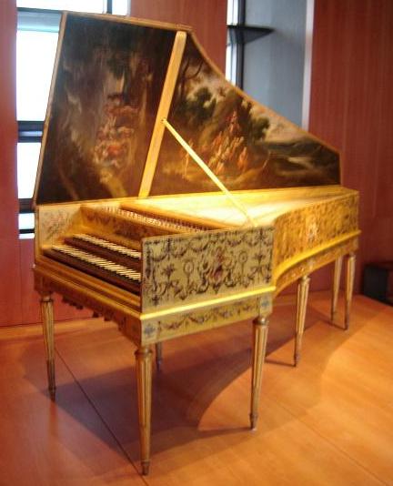 Taskin harpsichord