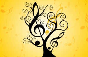 music tree clipart