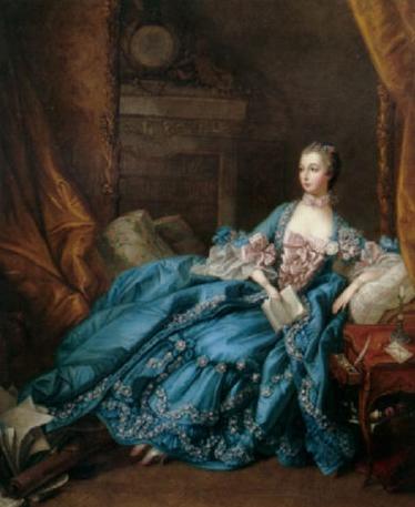 pompadour portrait