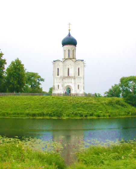 Bogolyubovo church