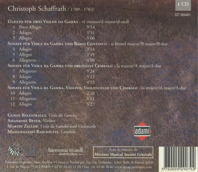 Schaffrath CD verso