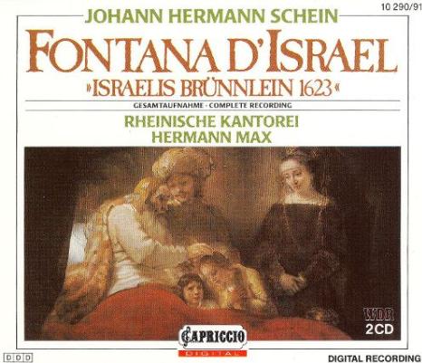 Schein Fontana d'Israel CD