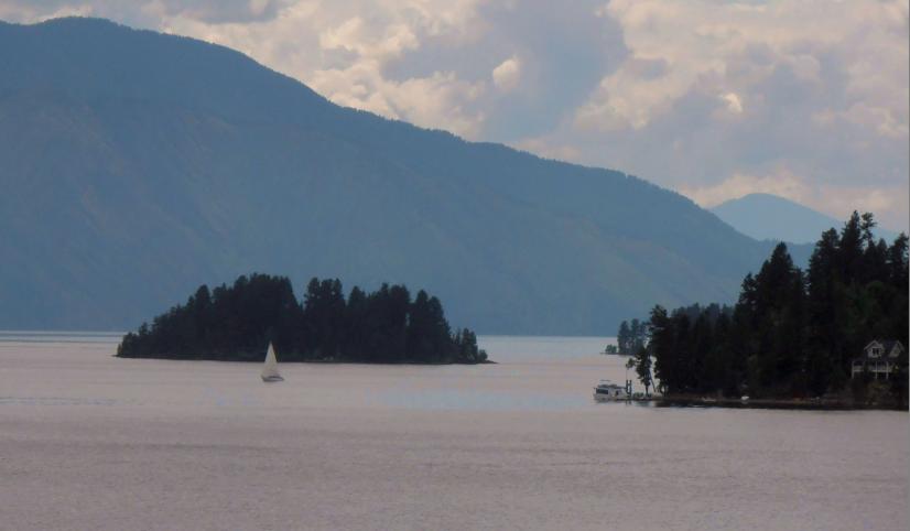 lake landscape image