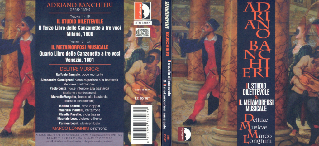 Banchieri CD verso
