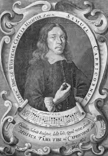 Samuel Capricornus portrait