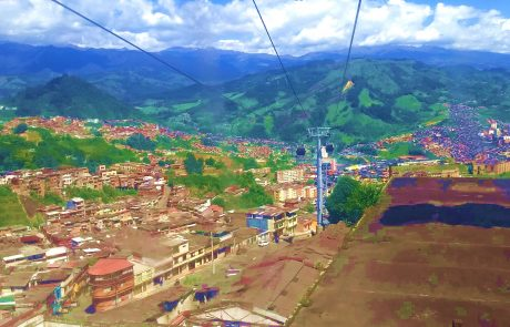 Manizales - view from cable car