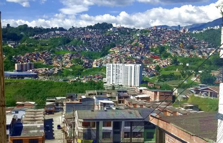 Manizales, view of Villamaria
