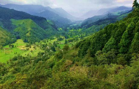 Valle de Corcora view
