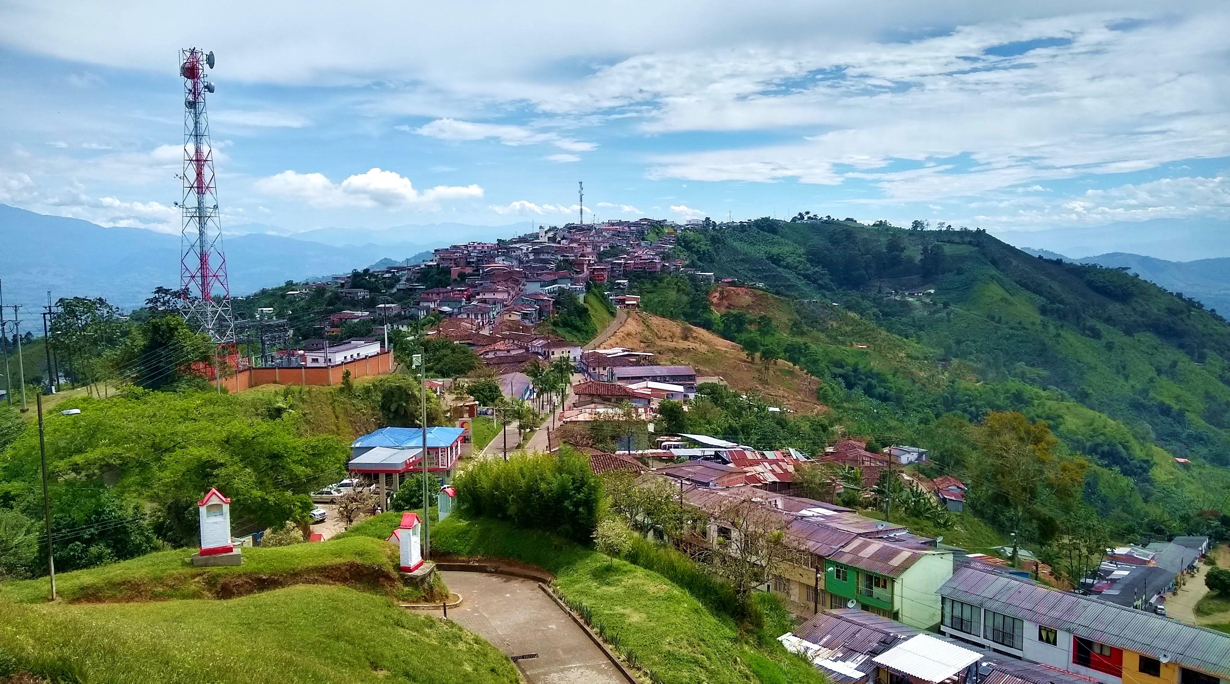 Belalcazar town view