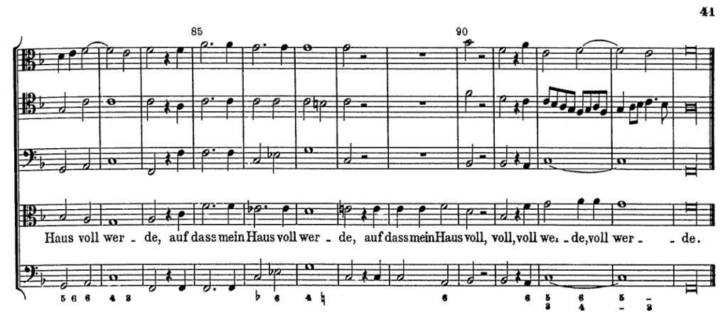 Ahle score excerpt