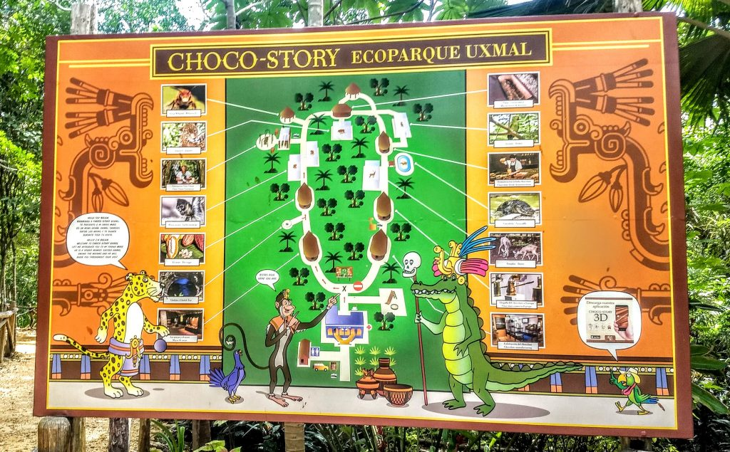Chocolate Museum Uxmal schematic