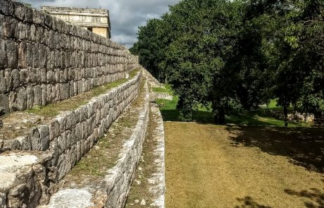 Uxmal view