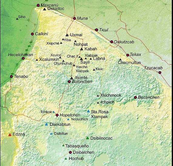 Puuc map