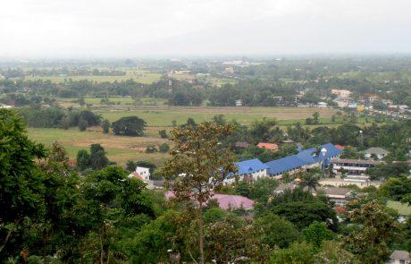 Doi Saket Temple view