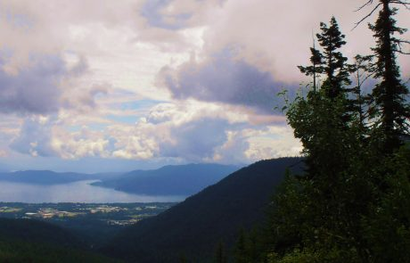 Lake Pend Oreille view
