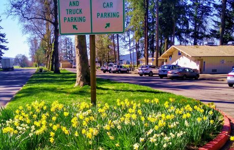 Oregon I-5 rest area