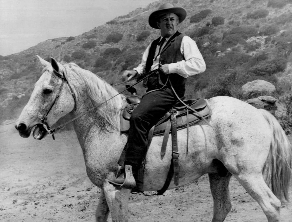 Lee J. Cobb in The Virginian