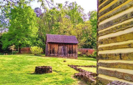 Log House, Historic Bethabara, Winston-Salem, NC