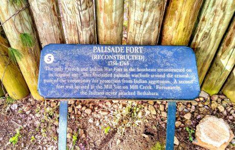 Palisade, Historic Bethabara, Winston-Salem, NC