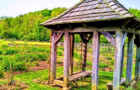 Gardens, Historic Bethabara, Winston-Salem, NC